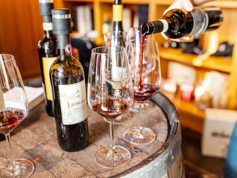 wine-tasting Chianti