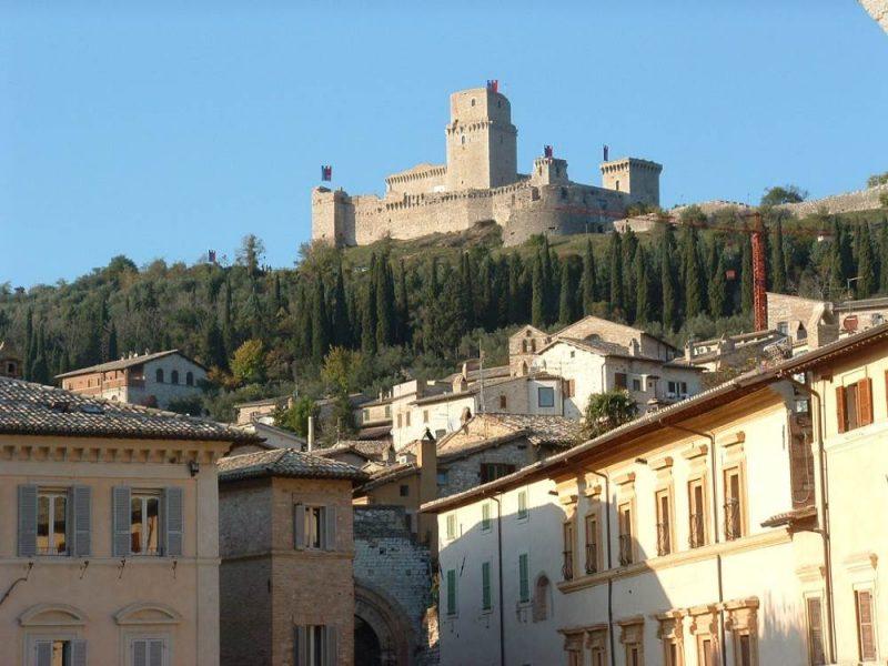Burcht von Assisi
