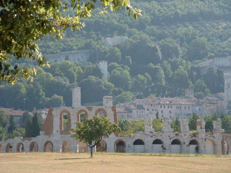 roman theatre gubbio