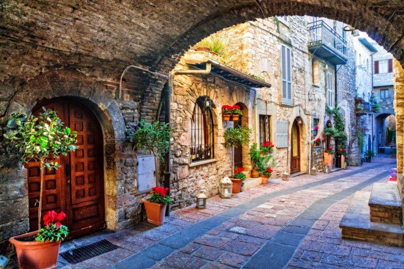 Montefalco walking tour