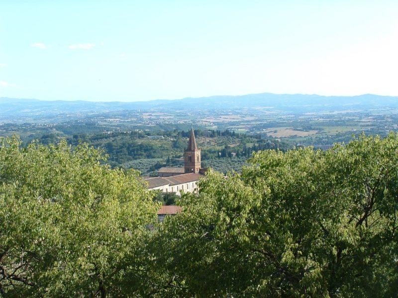 uitzicht van Perugia