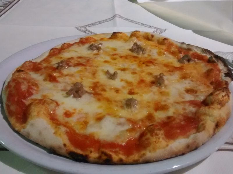 pizza in Umbrien