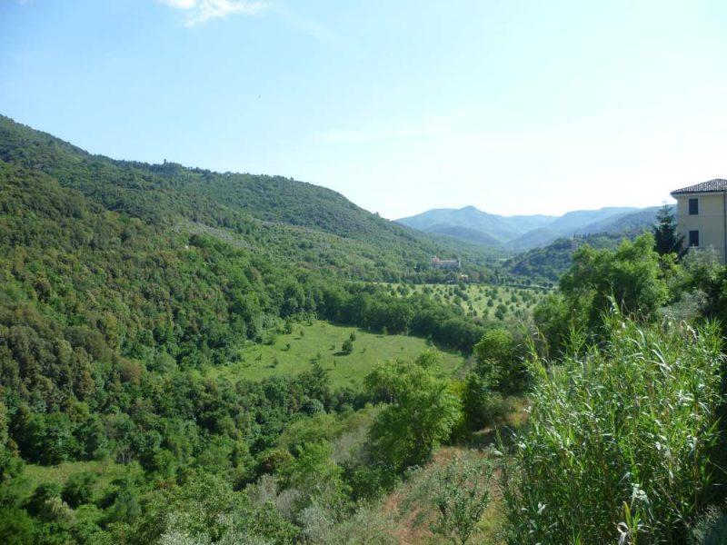 panorama van de Ponte delle Torri