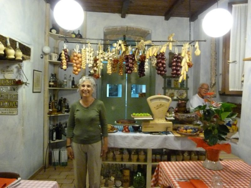 Food during walking tour Umbria