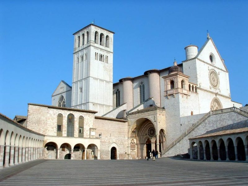 lower church Saint Francis Assisi