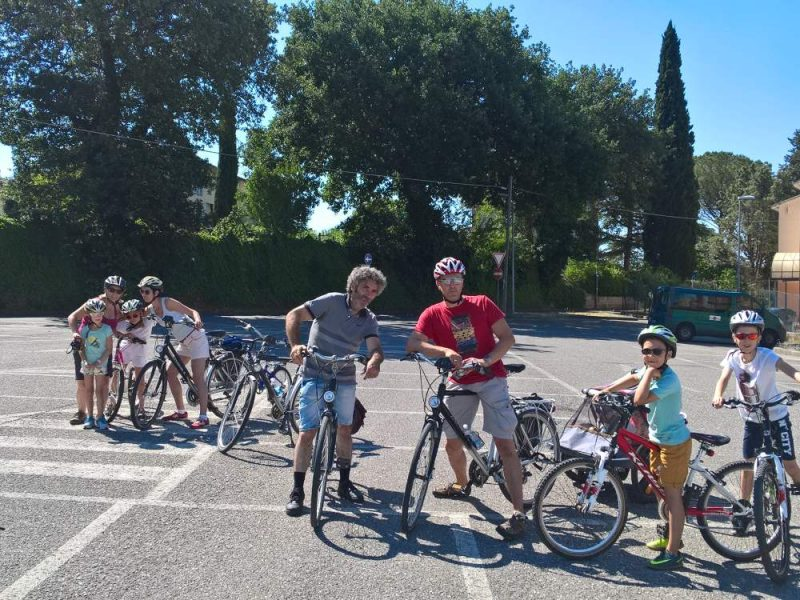 guided bike tour in Umbria