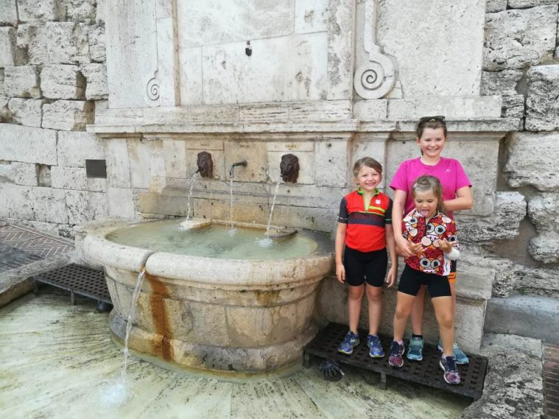 viaggio famiglia bici Umbria