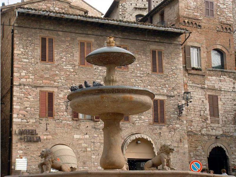 Assisi fountain