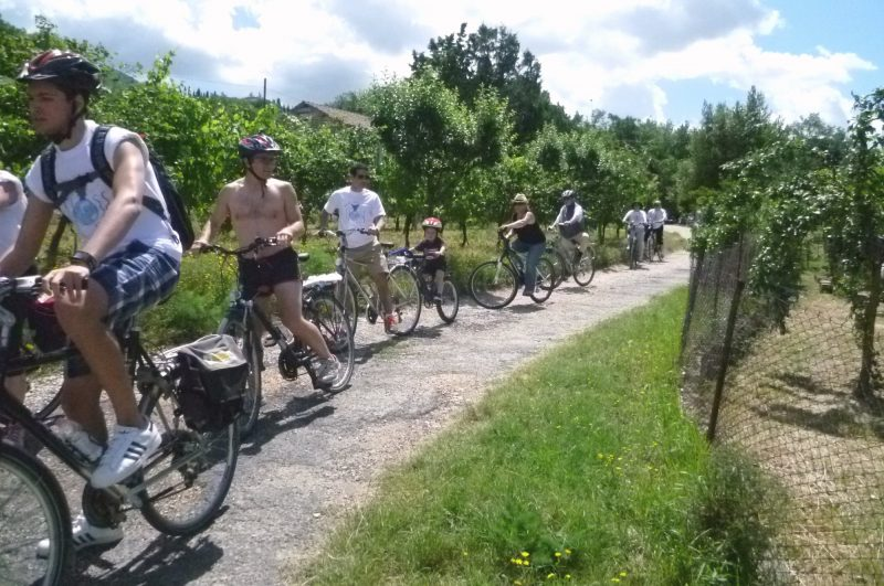 bike rental Umbria