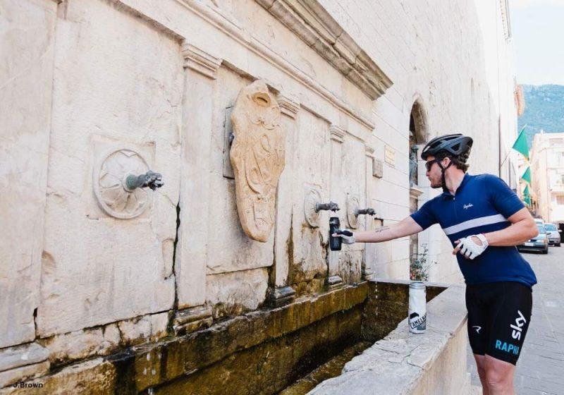 ciclista bici da corsa Toscana