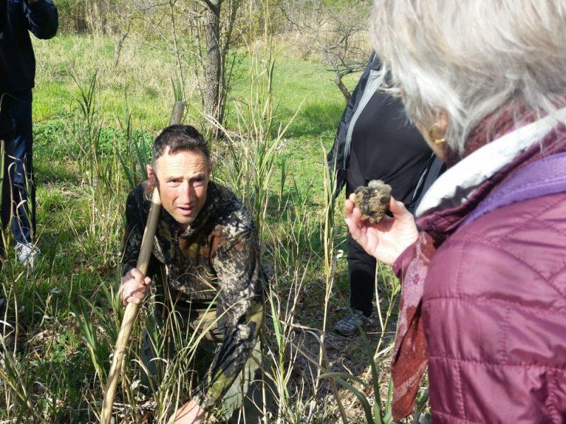 truffel zoeker in Umbrie