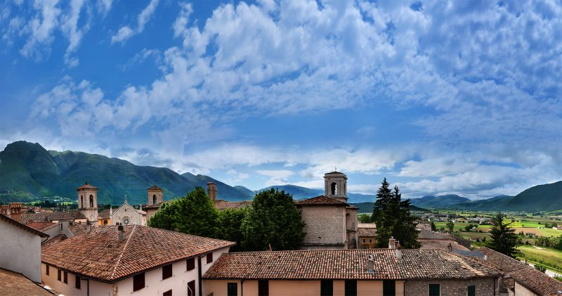view from hotel Norcia