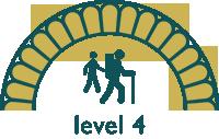 walking level 4